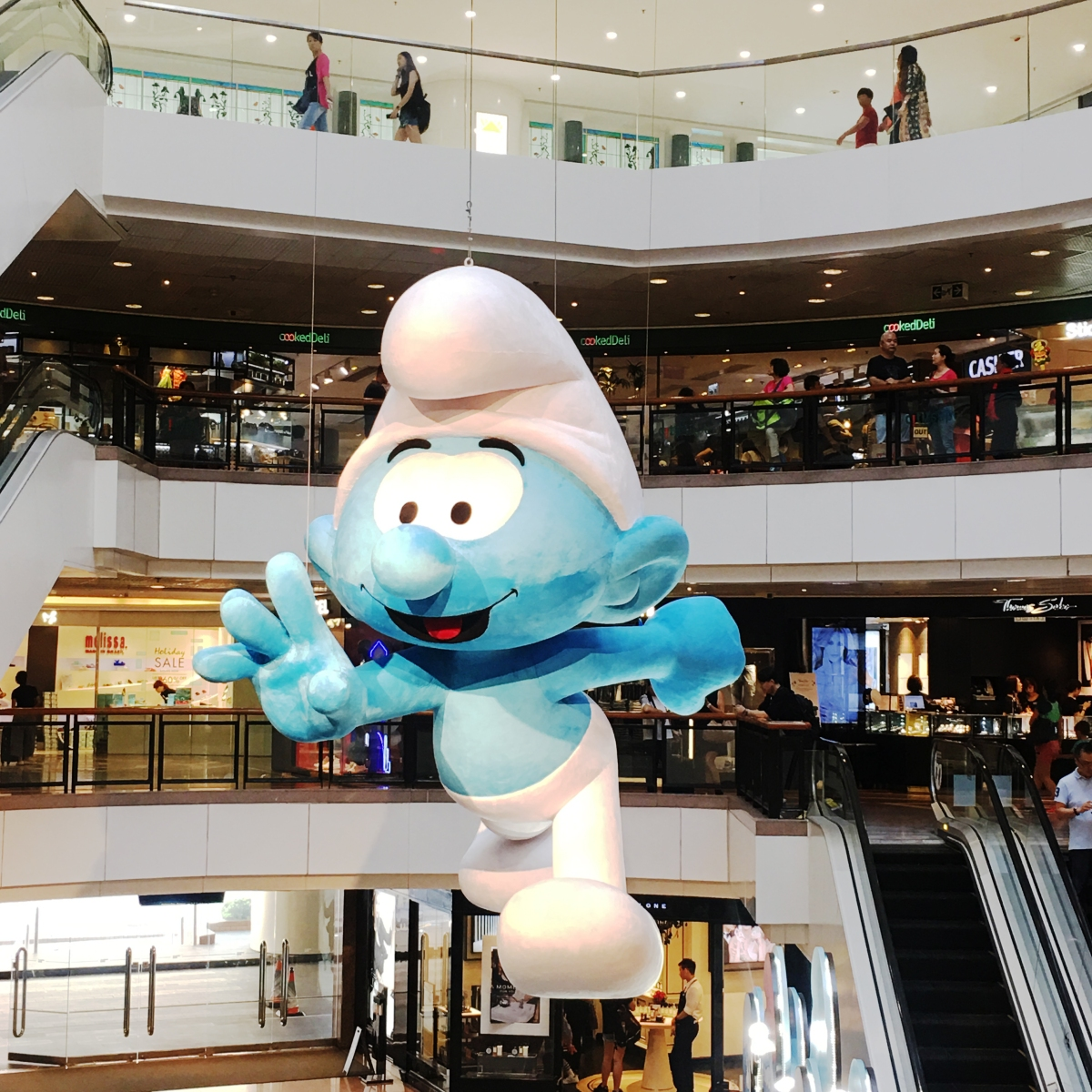 Smurf's Exhibition