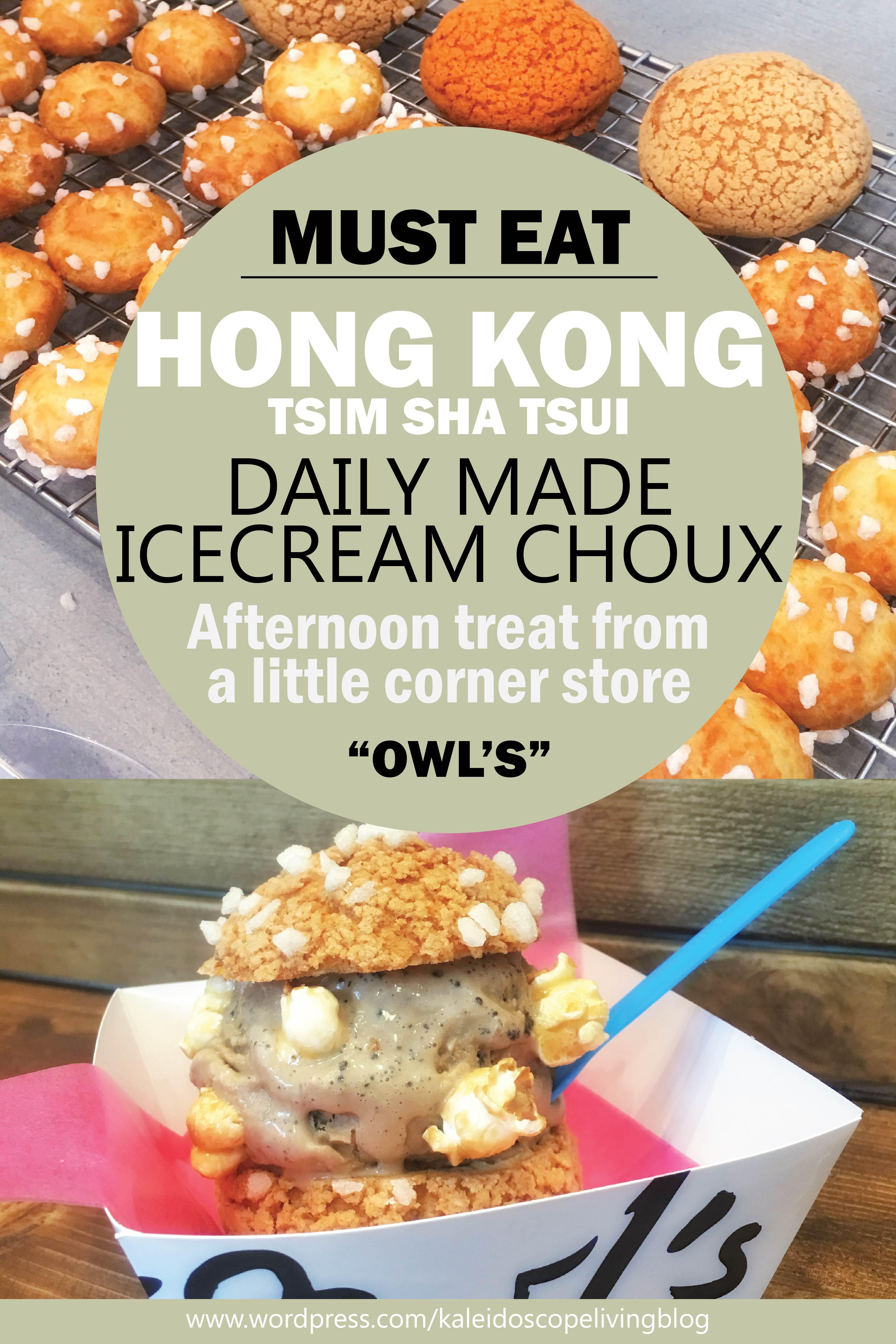 Travel Hong Kong Must Eat Tsim Sha Tsui Owl's Choux 香港必吃