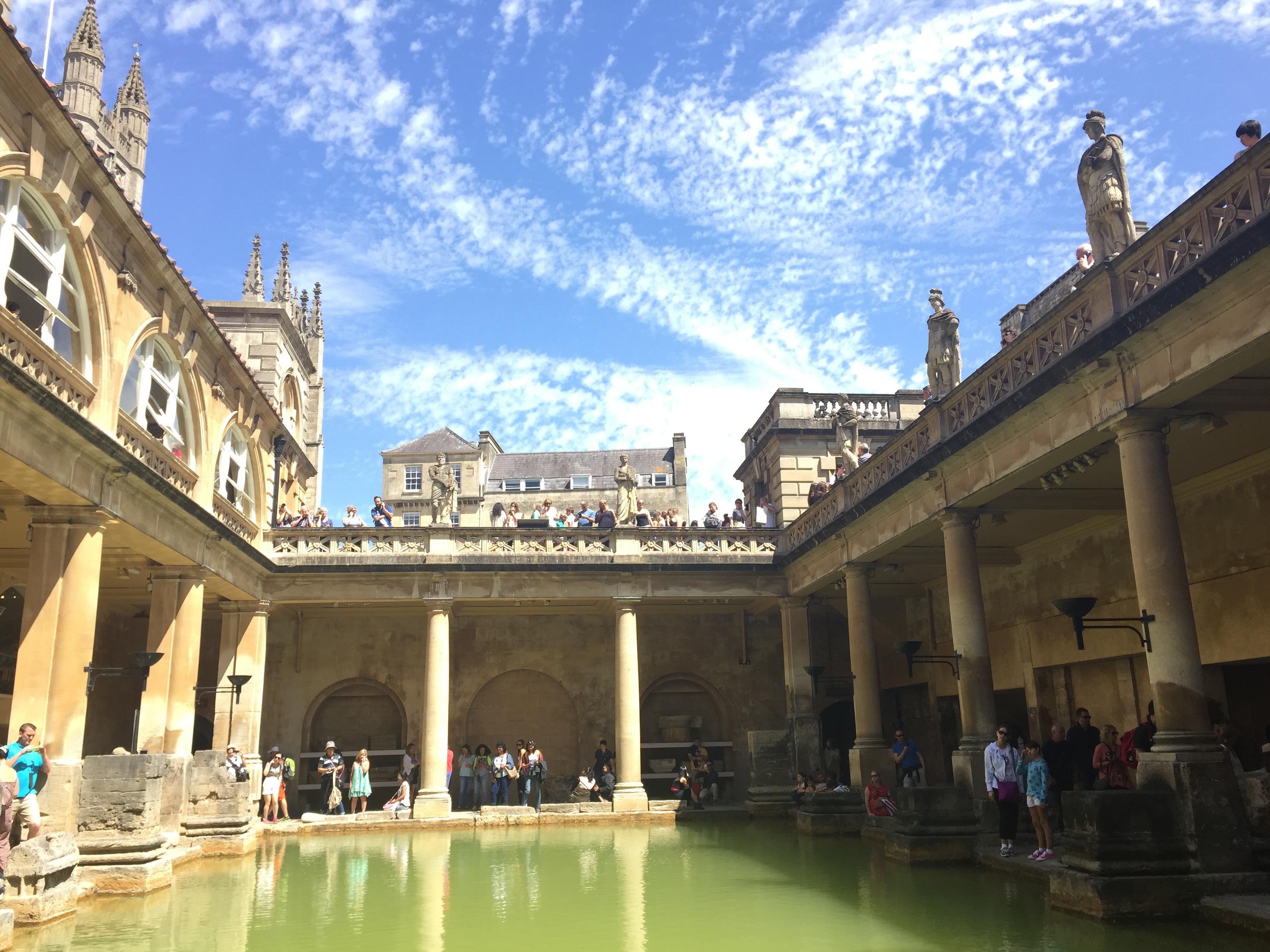 Travel United Kingdom UK London Bath Roman Ban 02