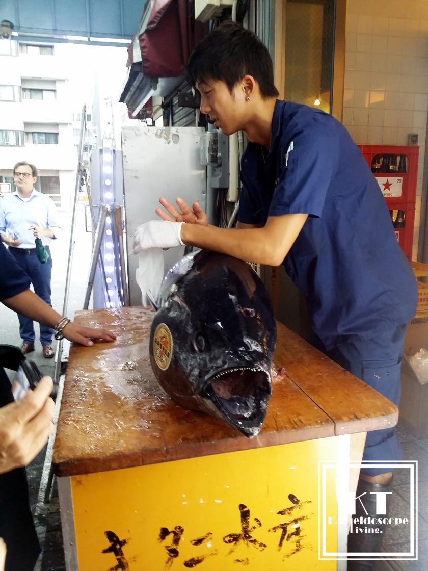 Japan Tokyo Tsukiji Tuna 01