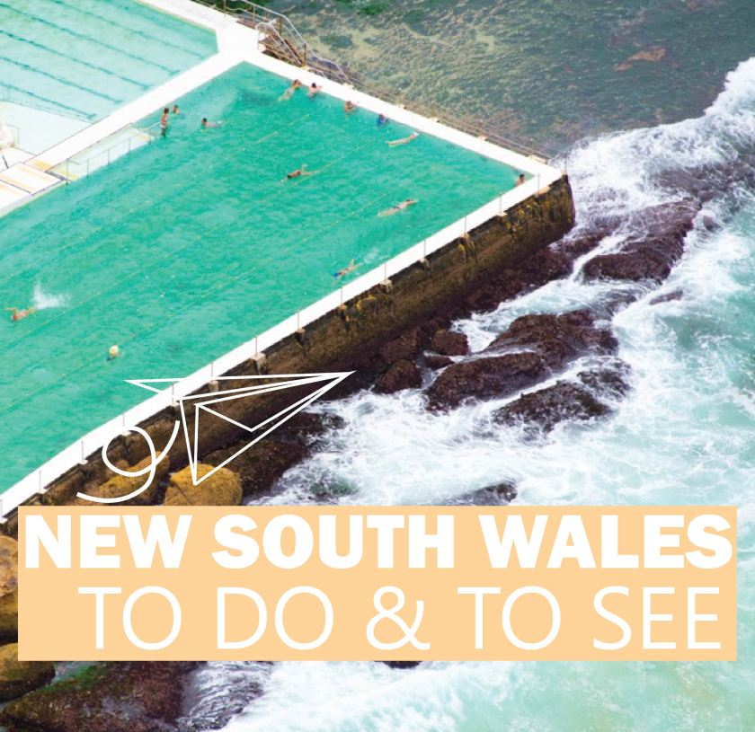 NEW SOUTH WALES- The Ultimate Travel Bucket List