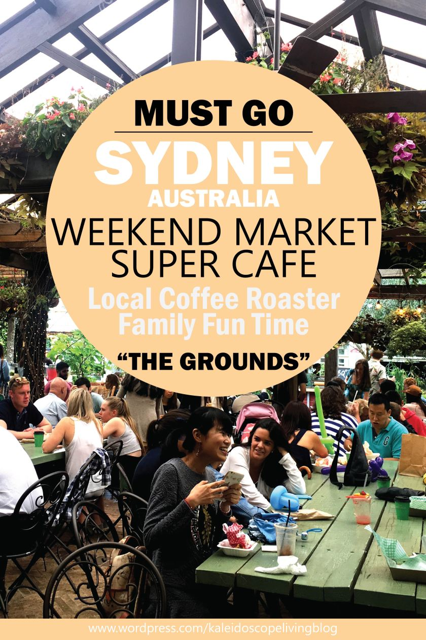 Travel Australia Sydney The Grounds of Alexandria Coffee Roaster Weekend Market 澳洲必去雪梨假日市集_01