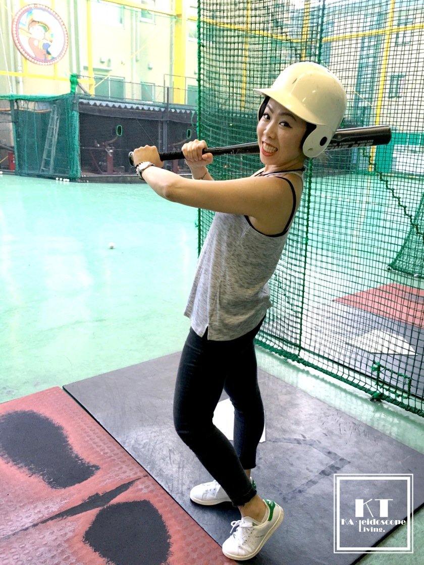 Japan Tokyo Shinjuku Baseball Batting Cage 03