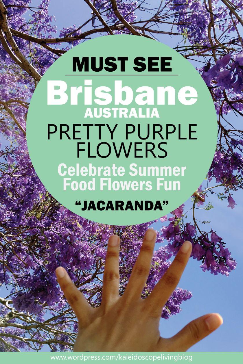 Bucket List Must Go Australia Brisbane Ipswich Goodna Jacaranda Festival Purple Cover
