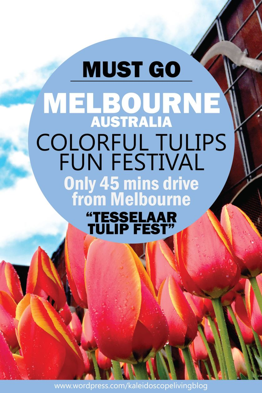 Bucket List Must Do Melbourne Tesselaar Tulip Festival Cover