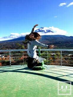 Travel Japan Yamanashi Fuji Five Lakes 日本 山梨 紅葉展望台レストハウス