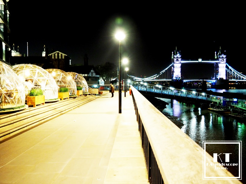 Travel London Thames River Tower Bridge Coppa Club Igloo 16
