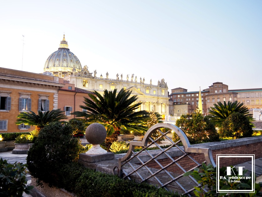 Travel Italy Rome Vatican Basilica di San Pietro Rooftop Bar Residenza Paolo VI 3