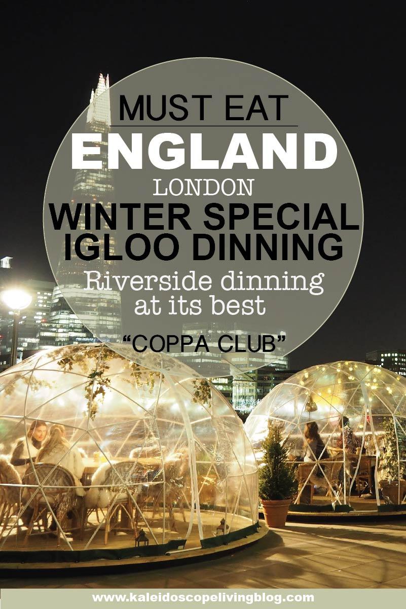 Travel London Thames River Tower Bridge Coppa Club Igloo 16