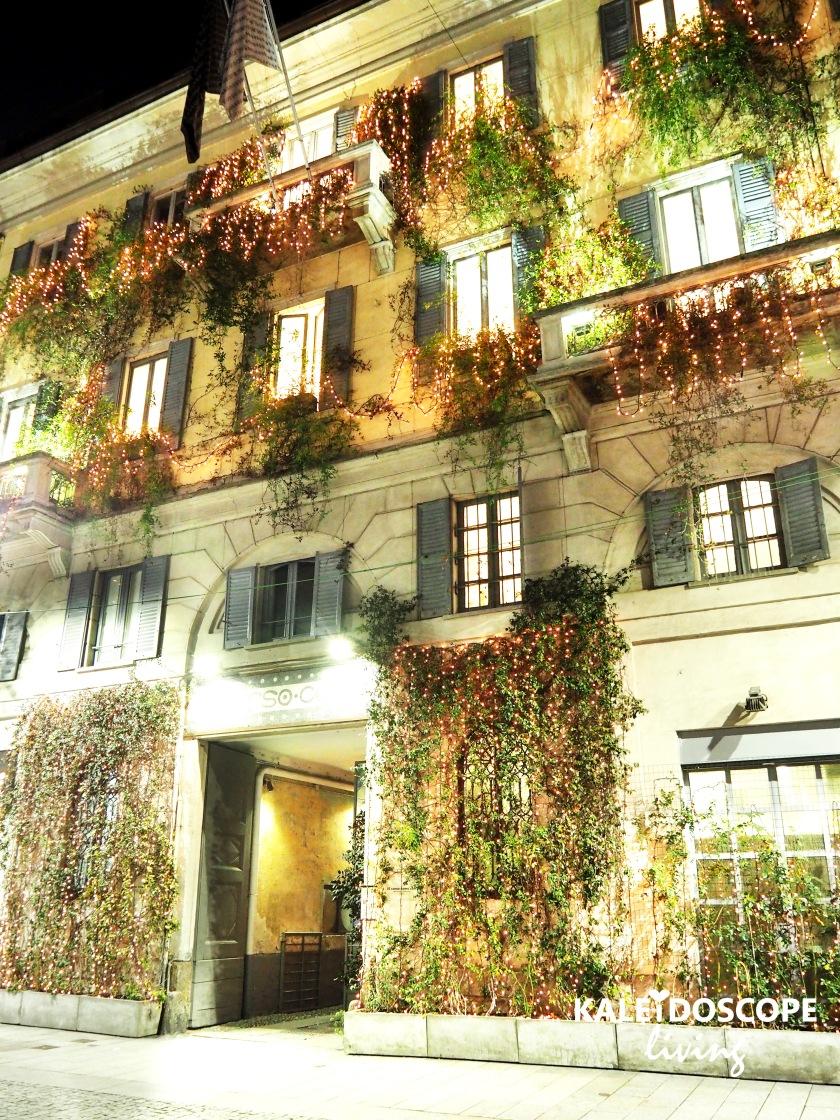 Travel Italy Milan Secret Garden Art Gallery Hotel Restaurant 10 Corso Como 1