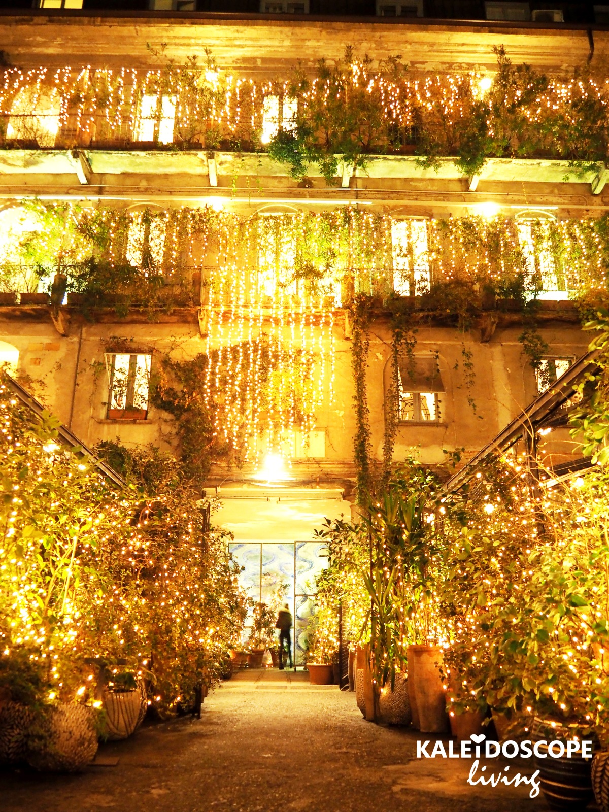 Travel Italy Milan Secret Garden Art Gallery Hotel Restaurant 10 Corso Como 7