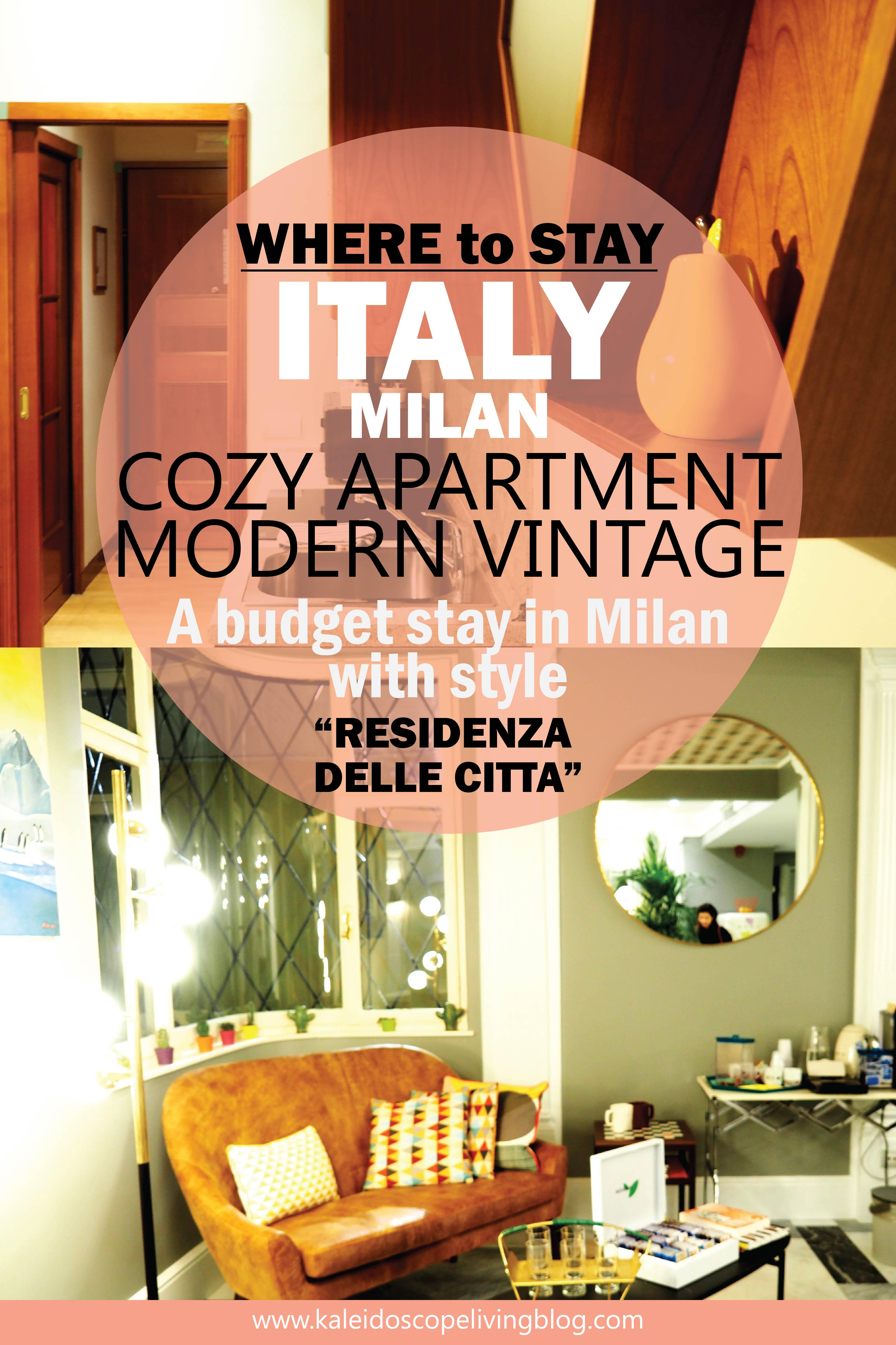 Italy Milan Travel Where To Stay Residenza Delle Citta 28