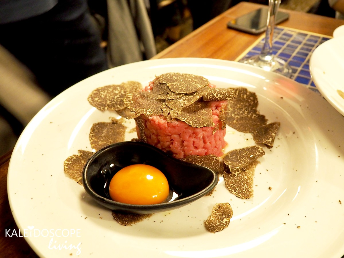 Truffles at a very affordable price in Central Milan