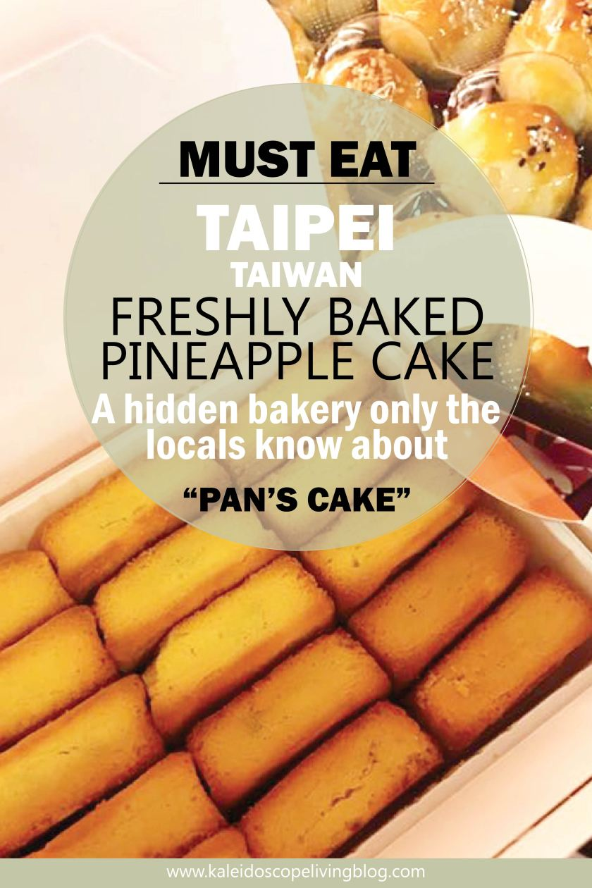 No Jokes The Best Pineapple Cakes I Ve Ever Tried Hidden Bakery In Taipei Kaleidoscope Living