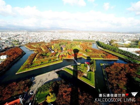 Travel_Japan_Hakkaido_Hakodate_Goryokaku_Park_Autumn_Maple_Red_Leaves_秋天_紅葉_日本_北海道_旅遊_五稜郭