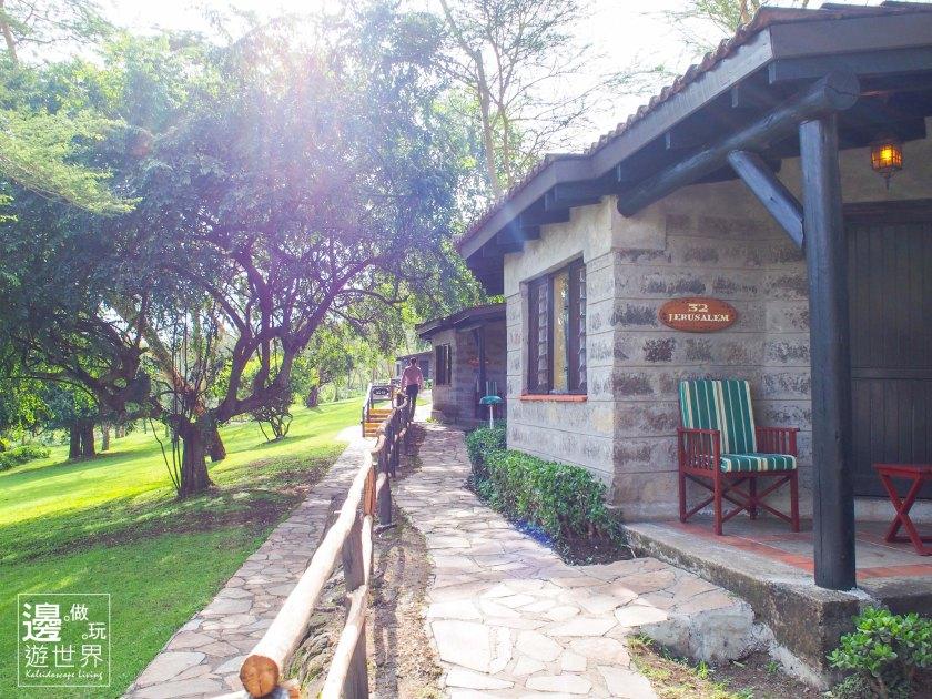 Travel Kenya Lake Nakuru Sarova Lion Hill Game Lodge Hotel 肯亞納庫魯湖公園五星級飯店_Room Corridor