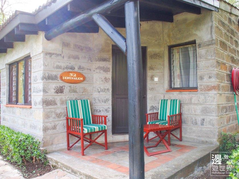 Travel Kenya Lake Nakuru Sarova Lion Hill Game Lodge Hotel 肯亞納庫魯湖公園五星級飯店_Room Entrance